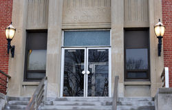 Edificio de la administración fotografía de archivo