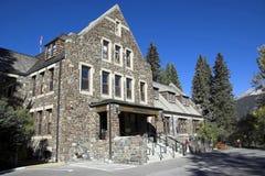 Edificio de la administración, Banff Imagenes de archivo