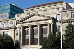 Edificio de la administración de la sociedad de National Geographic en lavarse Foto de archivo