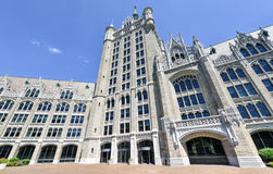 Edificio de la administración del sistema de SUNY imagen de archivo