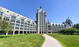 Edificio de la administración del sistema de SUNY foto de archivo