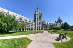 Edificio de la administración del sistema de SUNY fotos de archivo libres de regalías
