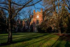 Edificio de la administración en la universidad del campus de Idaho imagen de archivo
