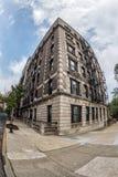 Edificio de la altura del morningside de Nueva York imagen de archivo libre de regalías