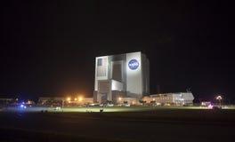 Edificio de la asamblea del vehículo en Kennedy Space Center Fotos de archivo
