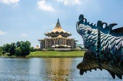 Edificio de la asamblea estatal de Kuching Fotos de archivo