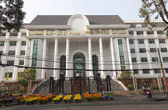 Edificio de la bolsa de acción en Ho Chi Minh Fotos de archivo libres de regalías