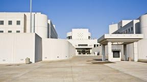 Edificio de la cárcel fotografía de archivo libre de regalías