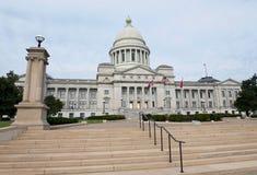 Edificio de la Capital del Estado de Arkansas Foto de archivo