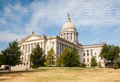Edificio de la casa y del capitolio del estado de Oklahoma Imagen de archivo