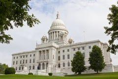 Edificio de la casa y del capitolio del estado de Rhode Island Imagenes de archivo