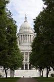 Edificio de la casa y del capitolio del estado de Rhode Island imagen de archivo libre de regalías
