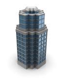 edificio de la ciudad 3d Fotografía de archivo libre de regalías