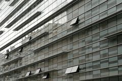 Edificio de la ciudad del diseño moderno Imágenes de archivo libres de regalías