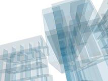 Edificio de la configuración Imagen de archivo