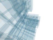 Edificio de la configuración Imágenes de archivo libres de regalías