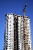 Edificio de la construcción Imagenes de archivo