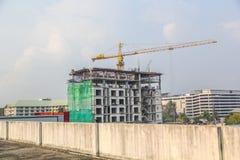 Edificio de la construcción en la provincia de Rayong Imágenes de archivo libres de regalías