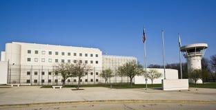 Edificio de la cárcel Imágenes de archivo libres de regalías