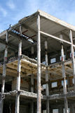 Edificio de la demolición Fotografía de archivo libre de regalías