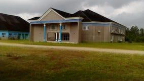 Edificio de la educación fotos de archivo