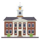 Edificio de la escuela o de la universidad Educación Fotos de archivo