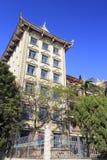 Edificio de la escuela secundaria del jimei en la ciudad amoy, China Imagen de archivo libre de regalías