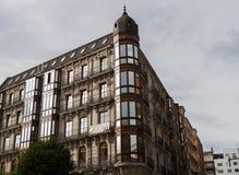 Edificio de la esquina de Bilbao Fotografía de archivo libre de regalías