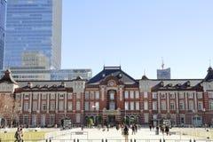 Edificio de la estaci?n de Marunouchi de la estaci?n de Tokio foto de archivo