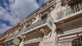 edificio de la fachada imagen de archivo