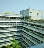 Edificio de la facultad Imagenes de archivo
