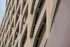 Edificio de la forma de la textura Fotos de archivo libres de regalías