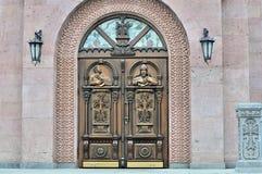 Edificio de la iglesia apostólica armenia Fotos de archivo libres de regalías