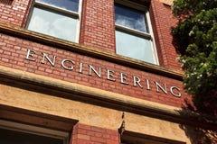 Edificio de la ingeniería imágenes de archivo libres de regalías