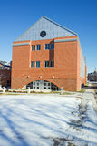 Edificio de la ingeniería en el campus de un histórico Fotografía de archivo libre de regalías