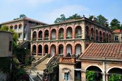 Edificio de la isla de Gulang Fotos de archivo libres de regalías