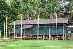 Edificio de la isla del mono Foto de archivo libre de regalías