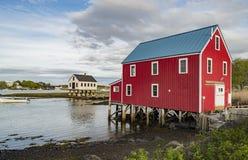 Edificio de la masopa del cabo, Maine los E.E.U.U. fotografía de archivo libre de regalías