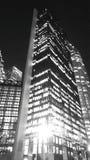 Edificio de la noche imágenes de archivo libres de regalías