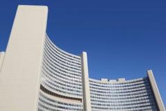 Edificio de la O.N.U de Naciones Unidas Fotos de archivo libres de regalías