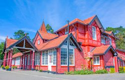 Edificio de la oficina de correos de Nuwara Eliya, Sri Lanka Imágenes de archivo libres de regalías