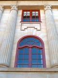 Edificio de la piedra arenisca Fotografía de archivo libre de regalías
