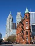 Edificio de la plancha (Gooderham) en Toronto Imagen de archivo