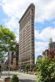 Edificio de la plancha, NYC Fotografía de archivo