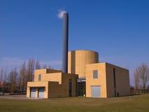 Edificio de la planta de fábrica Fotos de archivo libres de regalías
