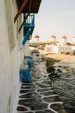 Edificio de la playa Fotos de archivo