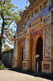 Edificio de la puerta Fotos de archivo libres de regalías