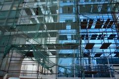 Edificio de la reconstrucción Imagenes de archivo
