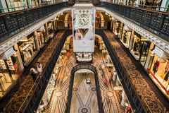 Edificio de la reina Victoria imagen de archivo