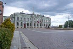Edificio de la residencia del presidente de Tartaristán en el Kremlin foto de archivo